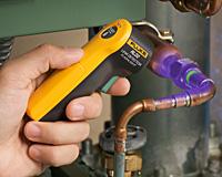 Detector de vazamento de gas refrigerante