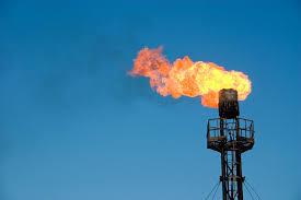 Imagem flared gas