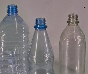 Imagem garrafas PET