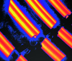 Imagem termica montagem continua