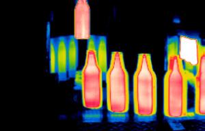 Imagem termica vidro